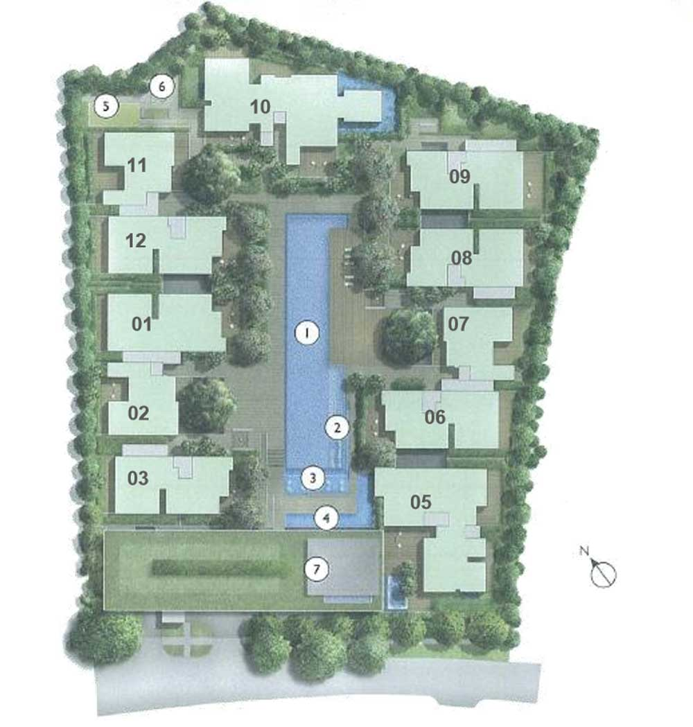 The Nassim Site Plan
