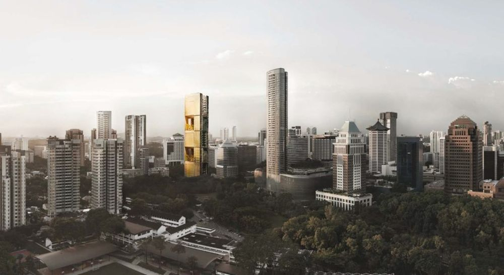 Orchard Road View | SG Luxury Condo