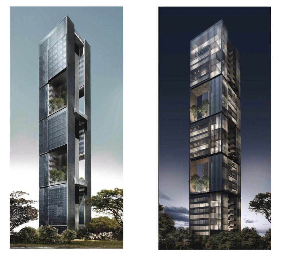 21 Angullia Park Day and Night View | SG Luxury Condo