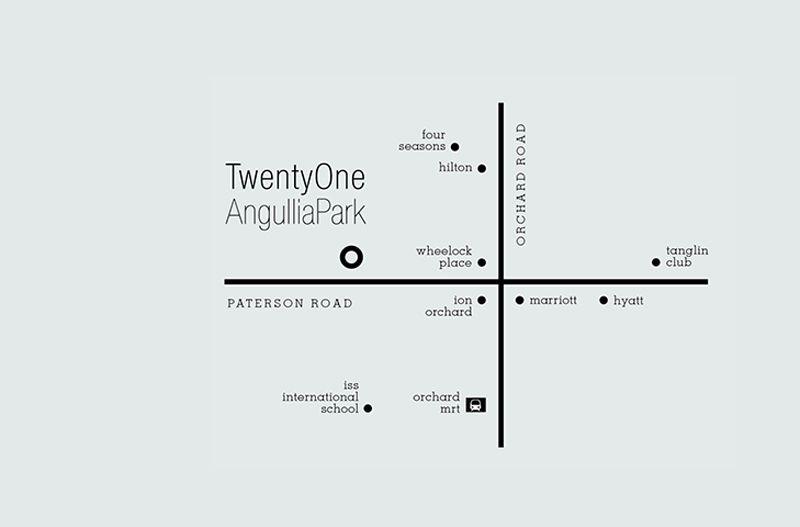 21 Angullia Park Location | SG Luxury Condo