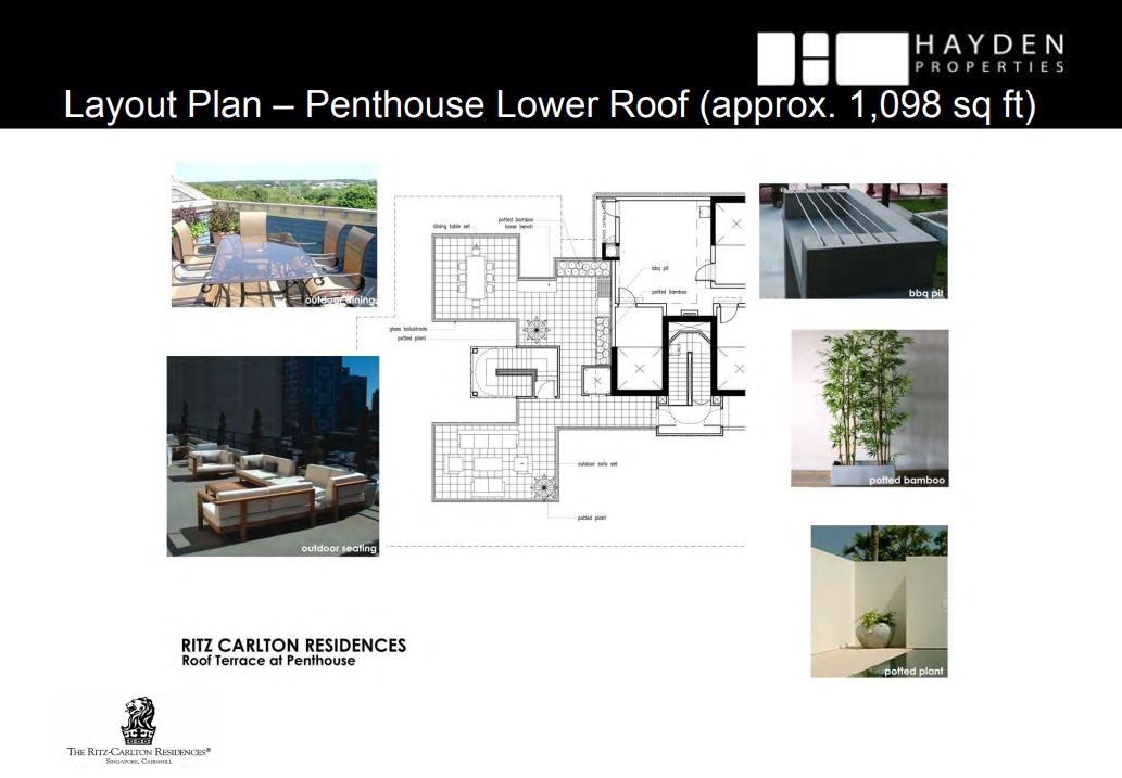 Ritz Carlton Penthouse Lower Roof