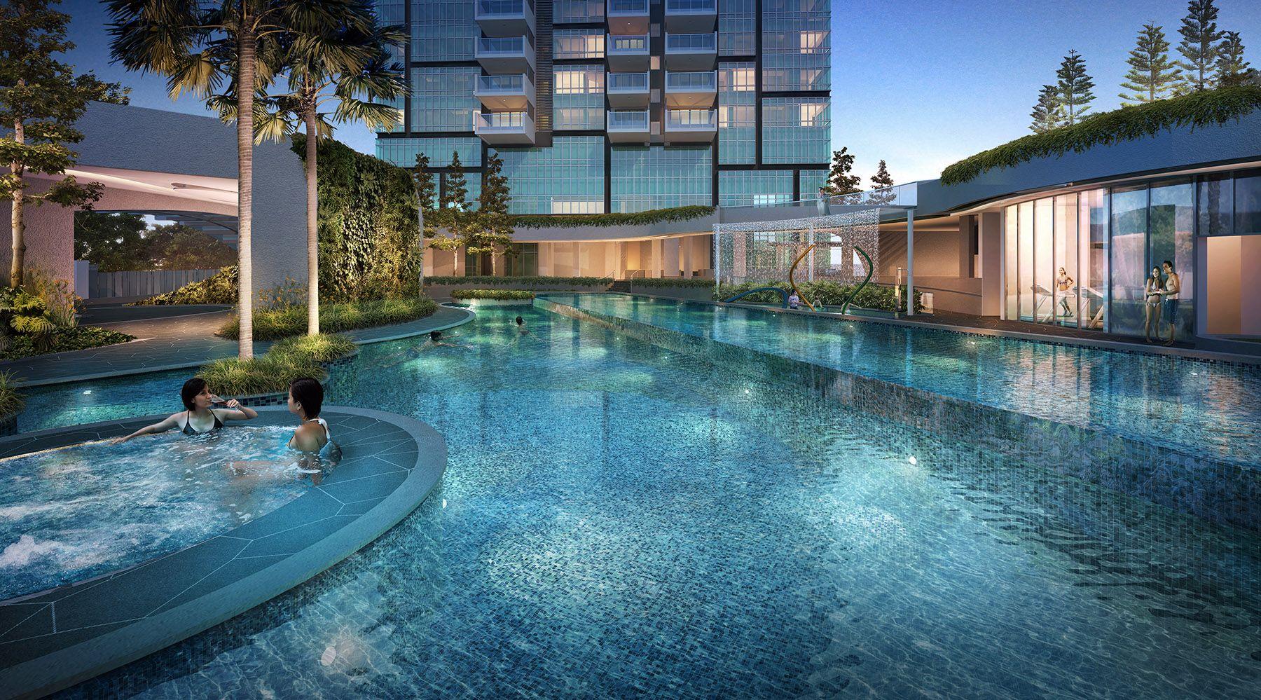 8 St Thomas Swimming Pool   SG Luxury Condo for Sale