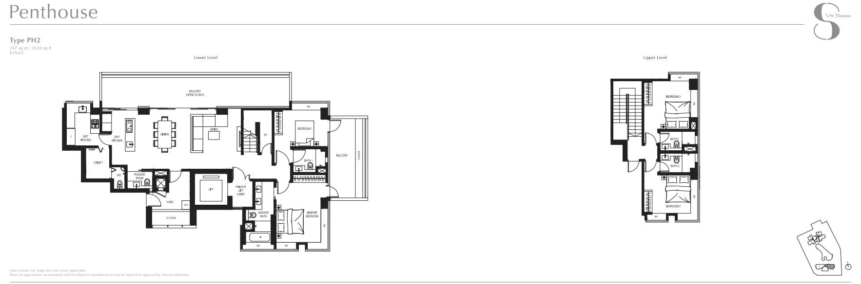 8 St Thomas Penthouse   SG Luxury Condo for Sale