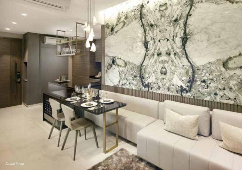 8 St Thomas Living Room   SG Luxury Condo for Sale