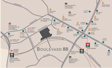 Boulevard 88 Transport | SG Luxury Condo