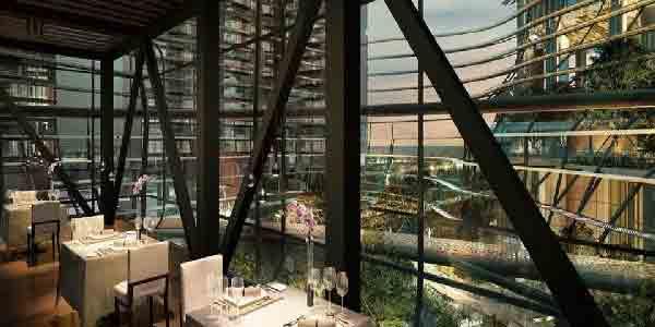 Marina One Residences Restaurant | Singapore Luxury Condominium for Sale