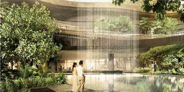 Marina One Residences Waterfall | Singapore Luxury Condominium for Sale