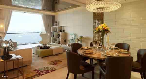 Marina One Residences Living Room | Singapore Luxury Condominium for Sale