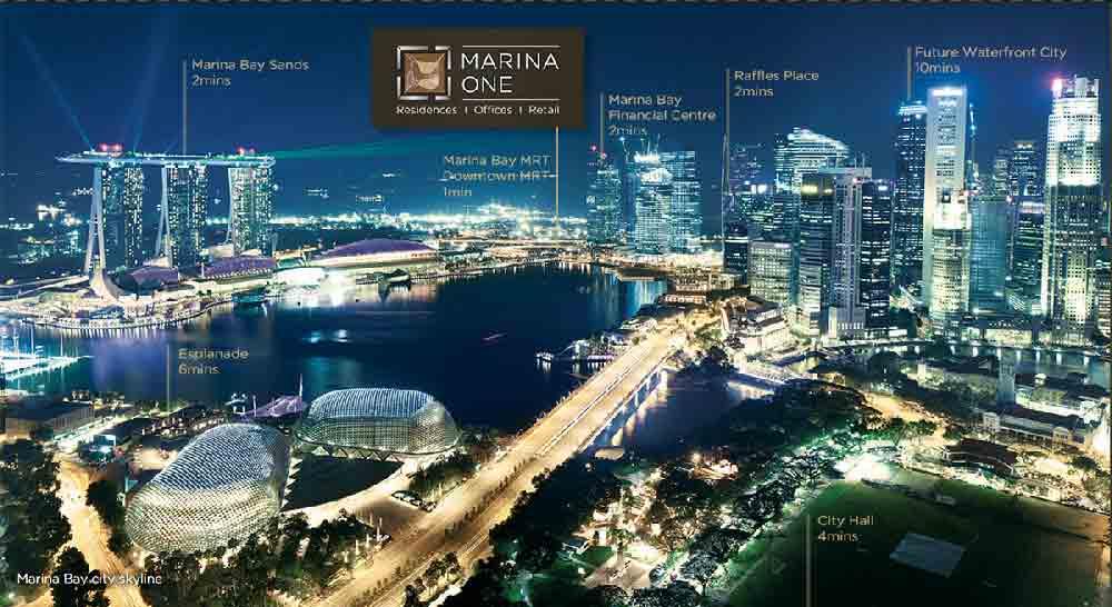 Marina One Residences Marina Bay | Singapore Luxury Condominium for Sale