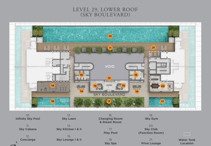 Boulevard 88 Sky Siteplan | SG Luxury Condo