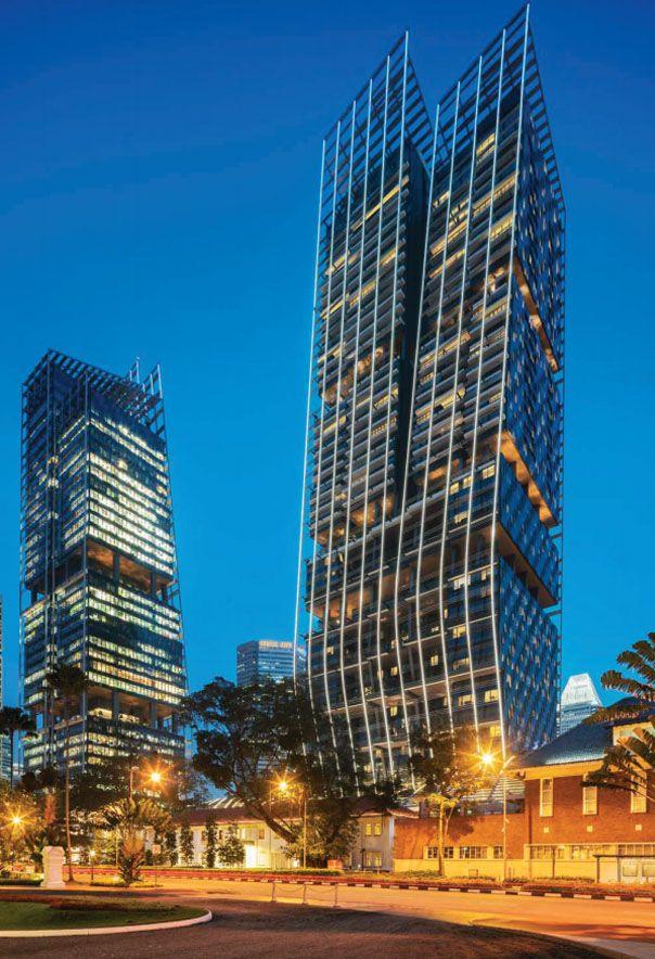 South Beach Residences Building   Singapore Luxury Condominium for Sale
