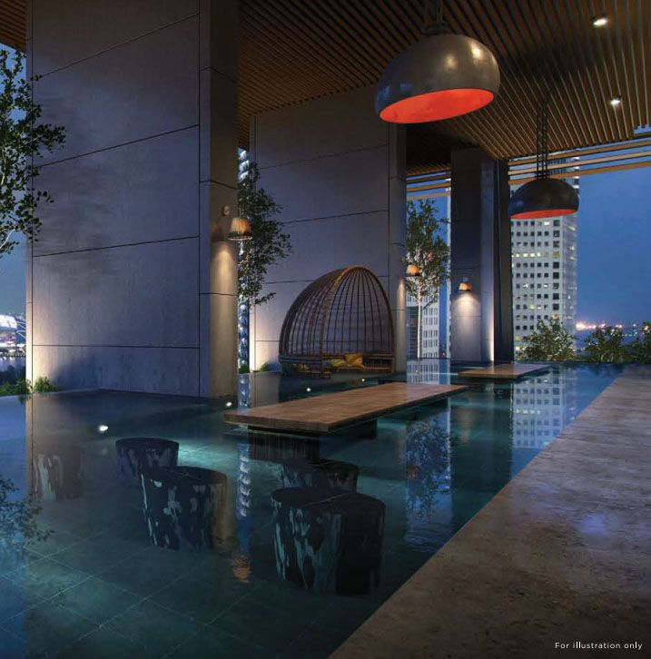 South Beach Residences Relax Pod   Singapore Luxury Condominium for Sale