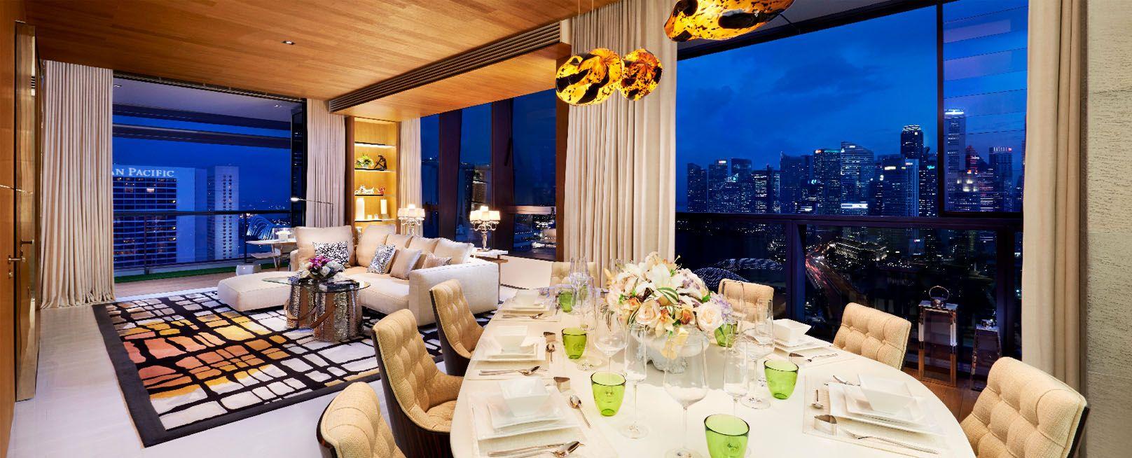 South Beach Residences Dinning   Singapore Luxury Condominium for Sale
