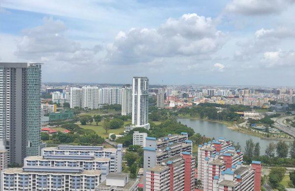 Singapore private condominiums landscape