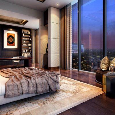 Singapore Condominium Bedroom