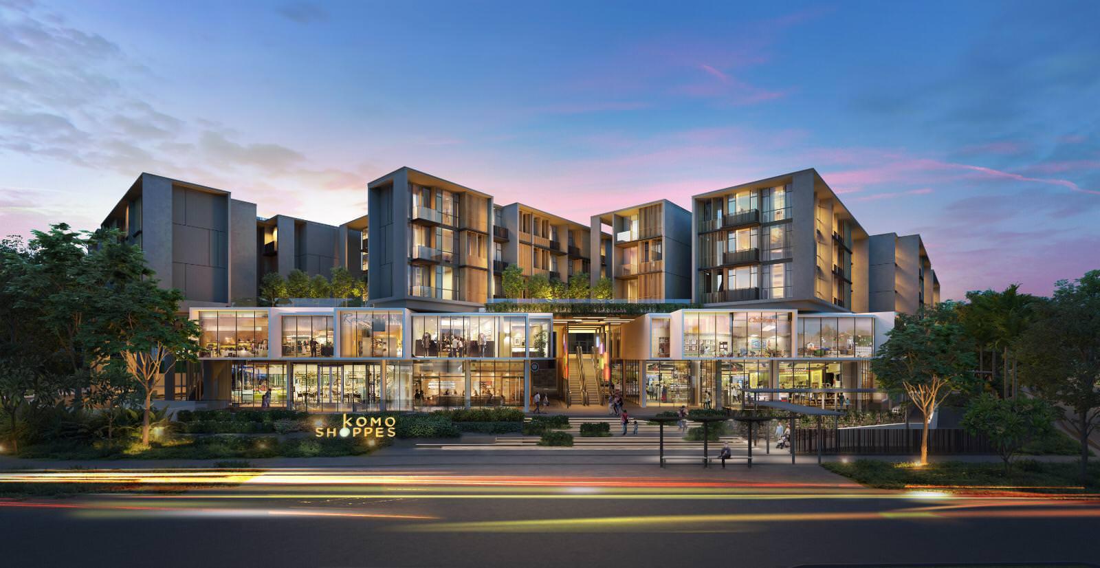 Mixed Development of Singapore Luxury Condominiums