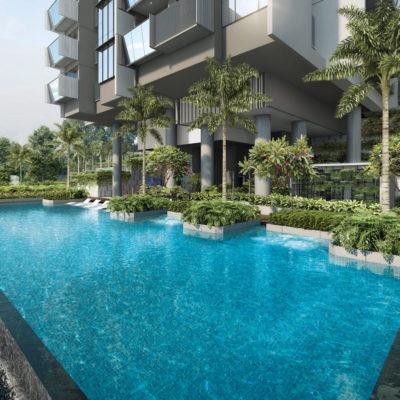 Singapore Condominium Swimming Pool