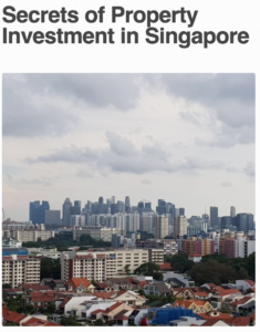 Secrets of Property Investment in Singapore Book Cover