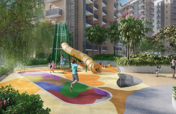 Singapore Condominium PLayground and Facilities