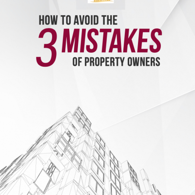 Avoid mistakes of property owner