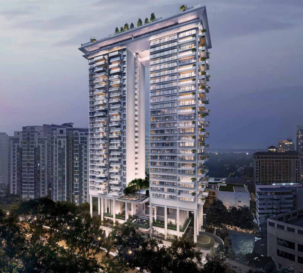 Orchard Road high end luxury condo