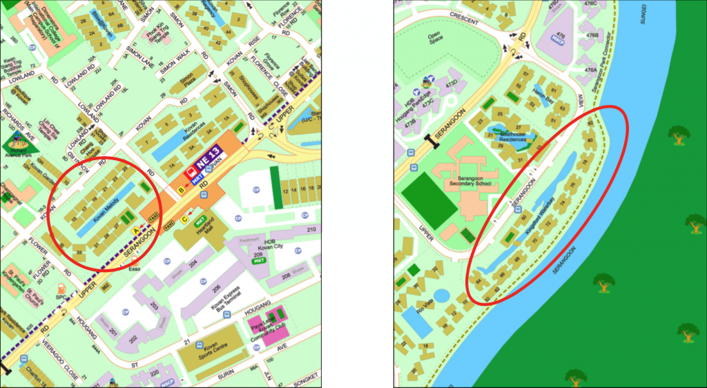 Map of Kingsford Waterbay vs Kovan Melody
